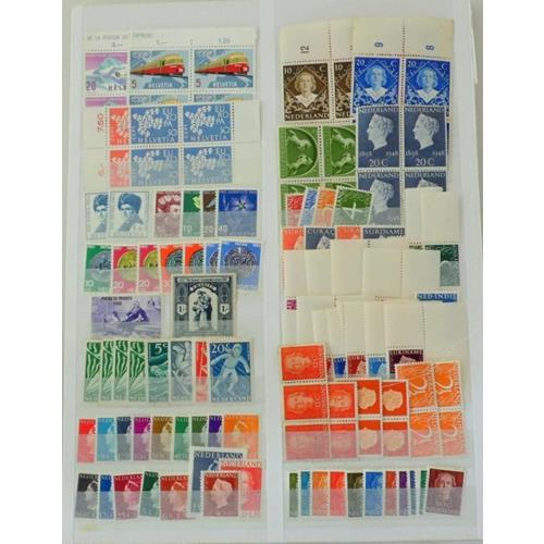 Collection of  Europe,Spain,Helvetia,Nederland,France,Lichte nstein Etc.