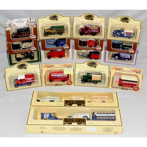 Collection of Lledo Collectors Model Cars.  Mint & Boxed.