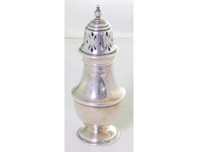 Sterling Silver Sugar Sifter by Ernest  W.Haywood. 20thc.