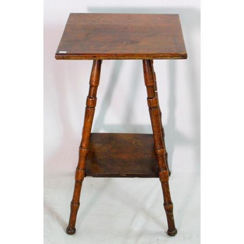 Antique Oak Gypsy Table