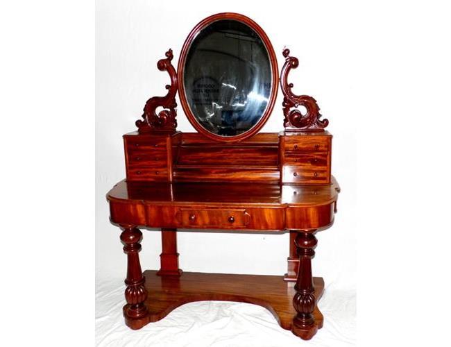 Fine Victorian Mahogany Duchess Dressing  Table.19thc.