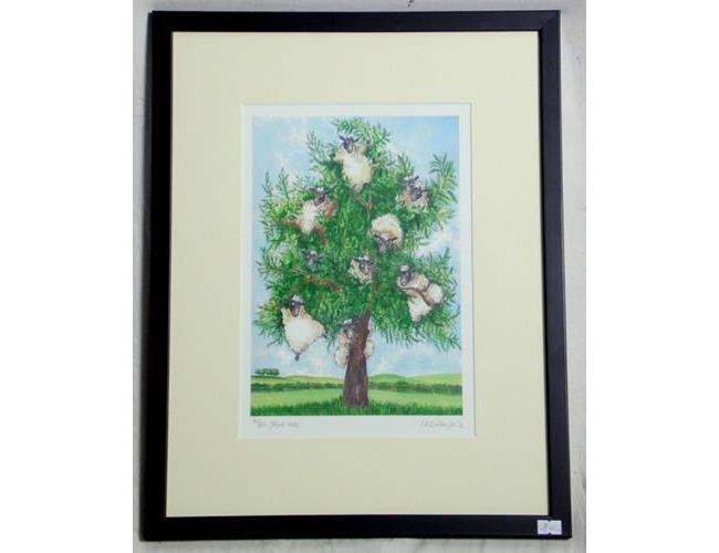 Kate Chidley  Limited Edition 'Yewe Tree'  Print. Signed by the artist