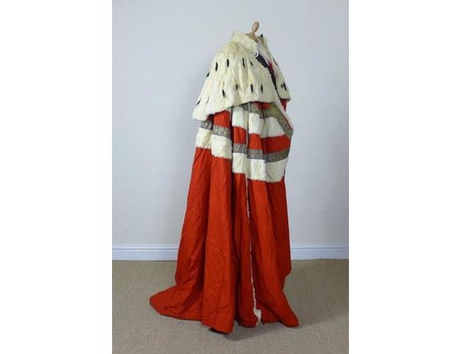 The Baron of Egmont Ceremonial Parliamentary  Robe by  Ede & Ravenscroft ,