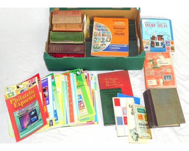 Vintage Collection of Stanley Gibbons Stamp  Catalogues