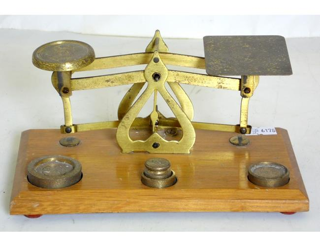 Vintage Postal Scales & Weights. 1900s